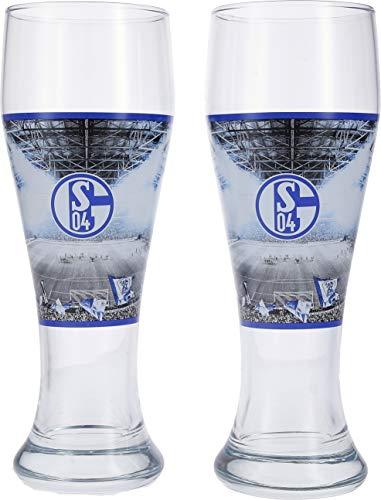 FC Schalke 04 Weizenbierglas 2er-Set