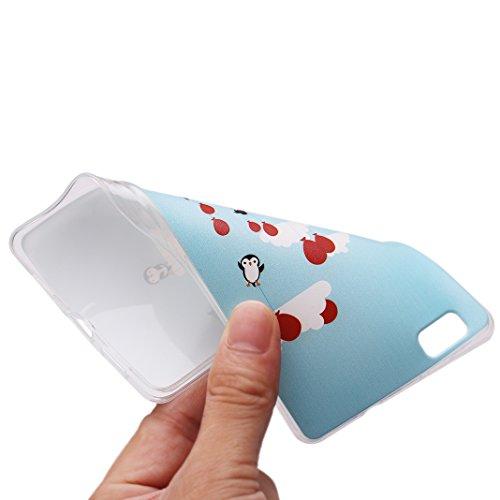 iPhone 6s,per Apple iPhone 6 Custodia Slim,Asnlove Custodia Cover Case in TPU Gel Silicone Transparente Sarto Personale Protecttive Back Shell Cellulare Accessori di Protettiva Cassa Caso in Premio Po Color-1