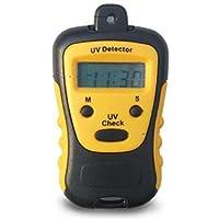 JIAN YA NA Medidor UV de Alta Resistencia Tester UV Medidor de Medición de UV Detector de Mano LCD de Luz, Ampliamente Utilizado en la Escuela de Deportes Al Aire Libre de la Familia, etc.