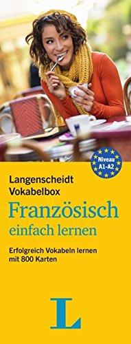 Langenscheidt Vokabelbox Französisch einfach lernen - Box mit Karteikarten: Erfolgreich Vokabeln lernen mit 800 Karten (Langenscheidt Vokabelbox einfach lernen)