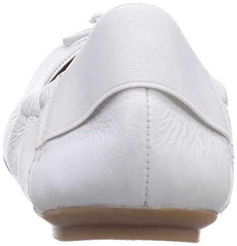 Caprice 22163, Ballerines fermées femme Blanc - Weiß (WHITE/100)