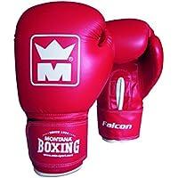 Montana 452021–Guantes de Boxeo Unisex, Color Negro