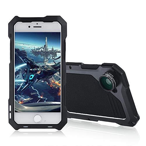 UMCCC iPhone 7/8 Case Outdoor Sports Staub-, Staub- Und Stoßsicher Fallschutz Kompletter Schutz Gut Gestaltet - Schwarz - Hard Skin Iphone Fall