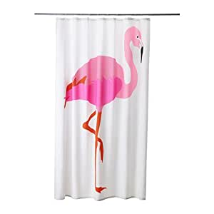 ikea duschvorhang springkorn flamingo bunt. Black Bedroom Furniture Sets. Home Design Ideas
