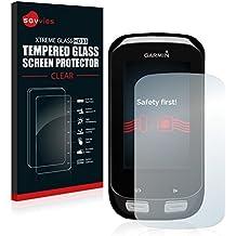 Savvies® Protector Cristal Templado para Garmin Edge 1000 - Protector Pantalla Vidrio, Dureza 9H