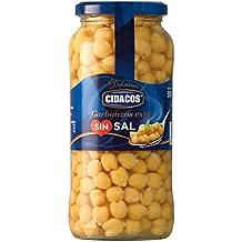 Cidacos Garbanzos sin Sal Añadida - 570 g