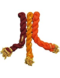 Dupatta (Weavers Villa Set Of 3 Multicolor Chiffon Dupattas (70 Different Colour Set Combinations Available)) - B06XCYSM3W