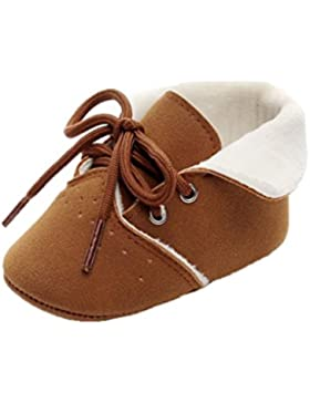 Babyschuhe Longra Baby Kinder Jungen Mädchen High Sneakers Baby Sport Schuhe Herbst Winter Schneestiefel Warme...