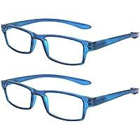 69a88b86e9e TBOC Gafas de Lectura Presbicia Vista Cansada - (Pack 2 Unidades) Graduadas  +2.50