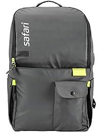SAFARI 27 Ltrs Black Casual Backpack (ULTIMO19CBBLK)