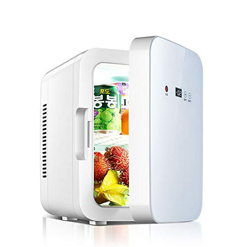 Mini Frigo, Frigorifero portatile Raffreddatore di vino compatto da frigo da 8...