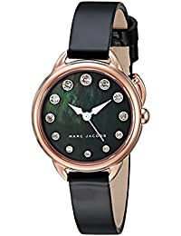 Marc Jacobs Reloj de Mujer Cuarzo Correa de Cuero Caja de Acero MJ1513 aeb724bd4982