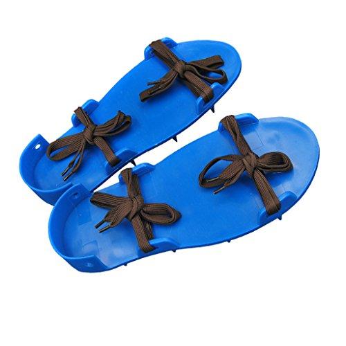 F Fityle Rasenlüfterschuhe Vertikutierer Rasenentlüfter Schuhe | Garten > Gartengeräte > Vertikutierer | Kunststoff | F Fityle