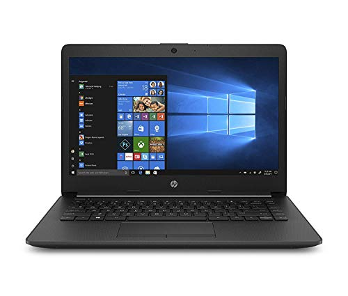 HP 14 cy0005AU 14-inch Laptop (A4-9125 Dual-Core/4GB/256GB SSD/Windows 10 Home/AMD Radeon R3 Graphics), Jet Black