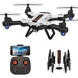 HAOXIN F22G FPV RC Drone Quadcopter Pliable avec Caméra HD 720p à Grand Angle...