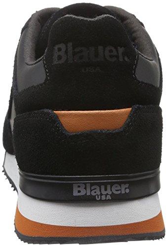 Blauer USA Runori, Baskets Basses Homme Noir - Noir