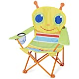 Melissa and Doug Sunny Patch Giddy Buggy Camp Chair, Multi Color