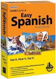 EASY SPANISH PLATINUM (WIN XP,VISTA,WIN 7,WIN 8)