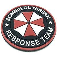 Parche Velcro Airsoft Zombie Outbreak Response Team Paraguas PVC