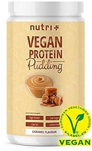 PROTEIN PUDDING CARAMEL Vegan 500g - 83,4% Eiweiß - 113 Kalorien - Low Carb...