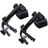 EbuyChX Adjustable Clip on Drum Mount Microphone Mic Clamps Holder Groove Gear Black