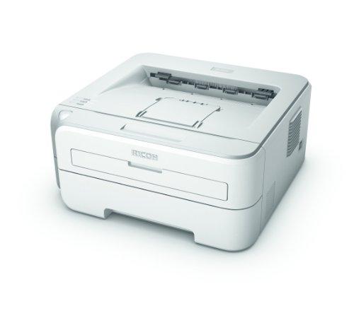 Ricoh Aficio SP 1210N schwarz/weiß Laserdrucker (2400x600 dpi, Ethernet 10/100, USB 2.0) grau