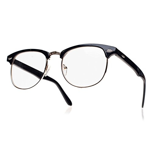 Men's Women's Original Retro glasses CLEAR LENS Unisex