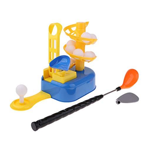 Baoblaze Kinderspielzeug Golf-Set Garten Kunststoff Erstausrüstung Spielzeug Golf