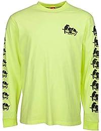 Santa Cruz Camiseta de Manda Larga Natas Panther Limelight