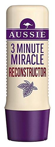 Aussie 3 Minute Miracle Haar Reconstructor Haarkur - strapaziertes Haar (250ml) - Packung mit 2 - Miracle Reconstructor