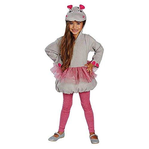 �m kleines Nilpferd Flußpferd Karneval Fasching Gr.116 ()