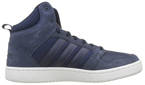 CF Super Hoops Mid, Sneaker a Collo Alto Uomo, Blu (Collegiate Navy/Collegiate Navy/Raw Grey), 42 EU adidas