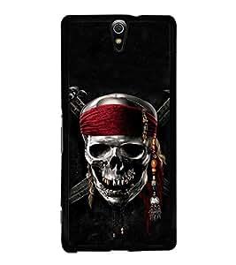 Fuson Designer Back Case Cover for Sony Xperia C5 Ultra Dual :: Sony Xperia C5 E5533 E5563 (Skull Pirate Pirate Skull Dead danger)