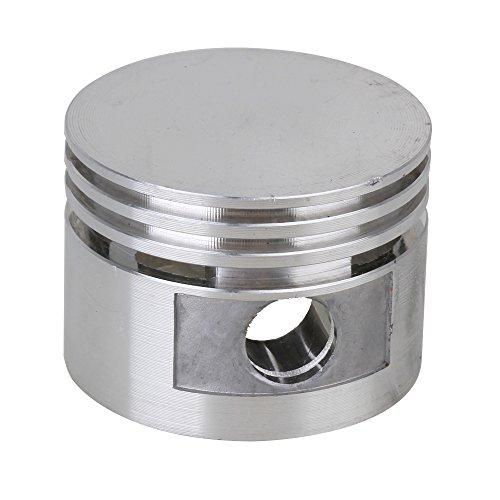 Yibuy Ersatzkolben für Motor-Luftkompressor, 12 mm Durchmesser, silberfarben