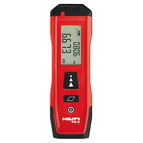 Hilti - Medidor de distancia láser de 60 m, medidor de medición de alcance de mano Rangefinder con medición de área, buscador de alcance, herramienta de medición de pantalla