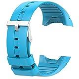 Trendyest Silikon Ersatz Armbanduhr Band Armband Strap für Polar M400M430Armbanduhr, Himmelblau