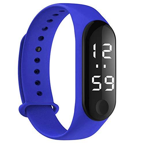 opalley Unisex Armbanduhr Digitale Sportuhr Silikonuhr mit LED Damen Herren Digital Sport Silikon Uhr
