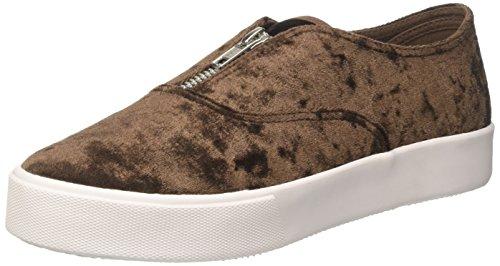 Jeffrey Campbell JCPROLLICK3VEL Sneaker a Collo Basso Donna, Marrone (Velvet Chocolate) 36 EU