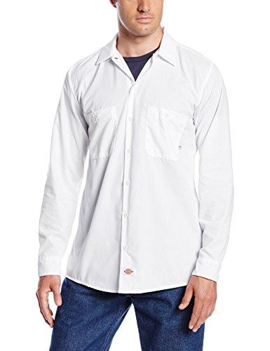 Dickies - - LL535 - Industrie-Langarm Shirt Work White