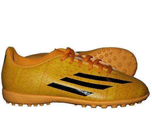 adidas Unisex-Kinder F5 Messi TF Jr M25053 Fußballschuhe, Gelb (Yellow), 30.5 EU -