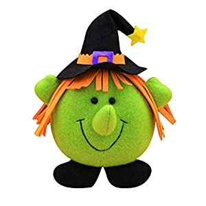 Dastrues Bruja Halloween Calabaza Niños