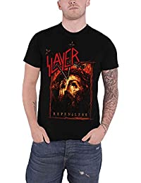 Slayer Mens T Shirt Repentless Cover Band Logo Mens Black Official