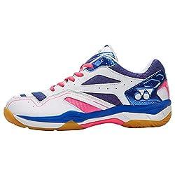 Nueva Yonex Power Cush Confort Deportes Badminton Calzado Rosa, Rosa, 37.5