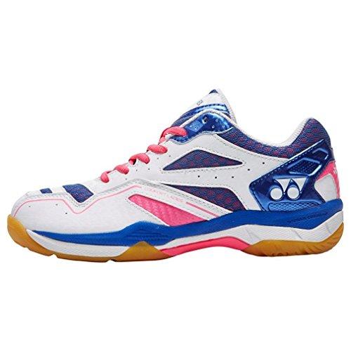Yonex Nuovi Power Cush Comfort Calzature da Tennis Badminton Sportive, Rosa, 40.5