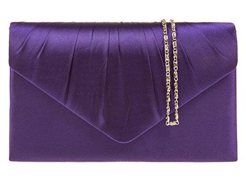 fi9 , Damen Clutch Violett violett