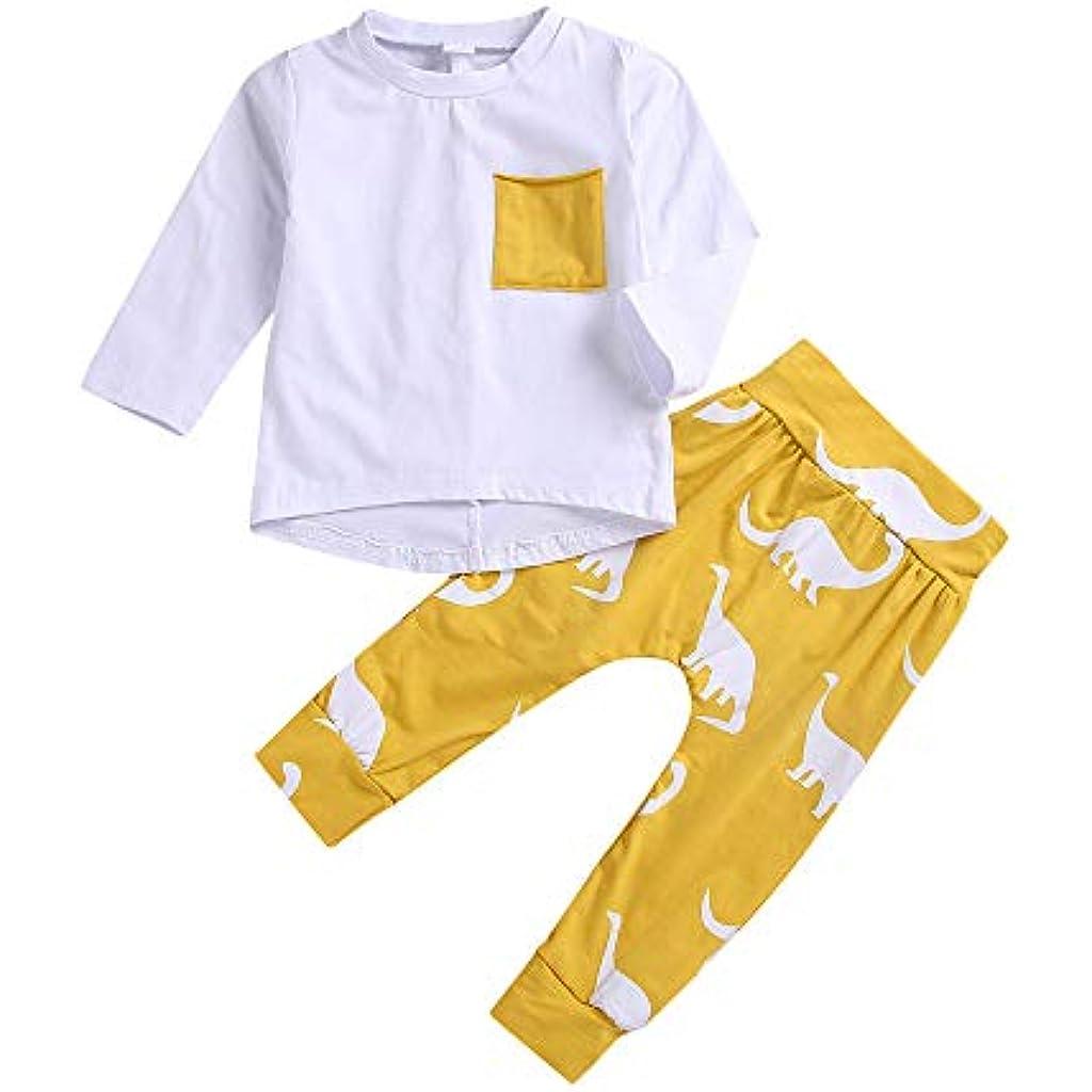 d9fc60471 K-youth Ropa Bebe Niño Invierno Ofertas Infantil Recien Nacido Bebé Niña  Otoño Camisetas Blusas Bebe Niña Pijamas Moda Dinosaurio Camisa +  Pantalones ...