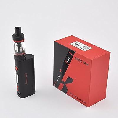 www.vapingman.co.uk Kanger Subox Mini Kit Schwarz weiß von Kanger