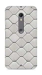 Amez designer printed 3d premium high quality back case cover for Motorola Moto X Style (Texture)