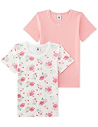 Petit Bateau, T-Shirt Fille (lot de 2)