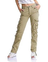 buona reputazione acquista per diversificato nella confezione pantaloni cargo donna - Donna: Abbigliamento - Amazon.it